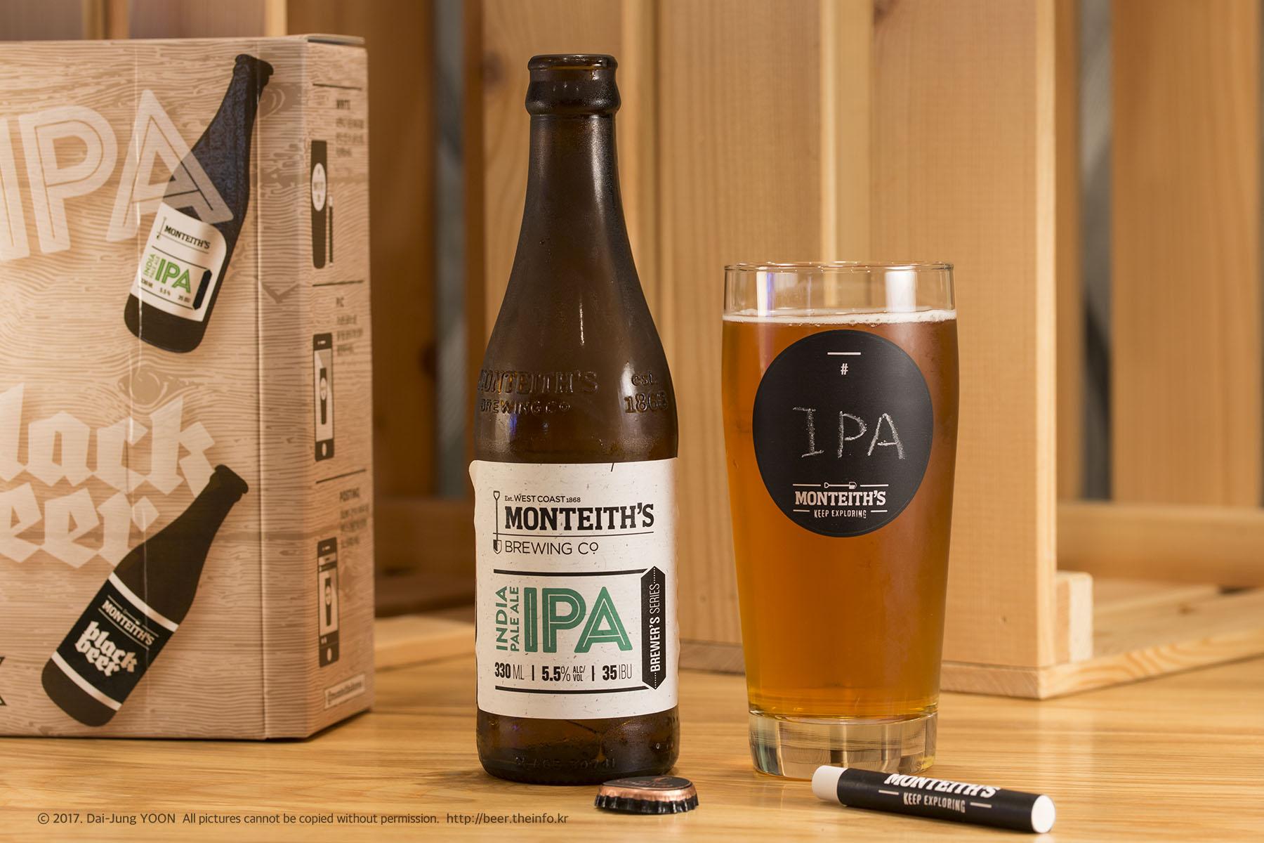 몬티스 IPA / Monteith's India Pale Ale