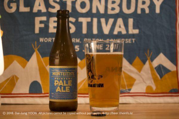 몬티스 페일 에일 Monteith's Pale Ale