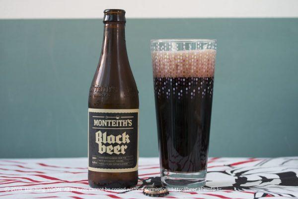 몬티스 블랙 비어 Monteith's Black Beer