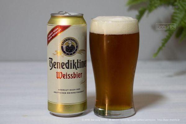 베네딕티너 바이스비어 Benediktiner Weissbier - 3점